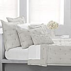 DKNY City Silk Standard Pillow Sham in Ivory