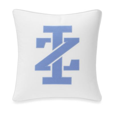 IZOD® Vineyard Stripe Logo Square Toss Pillow