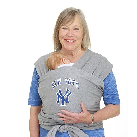 Moby® MLB™ Edition New York Yankees Wrap Baby Carrier in Grey