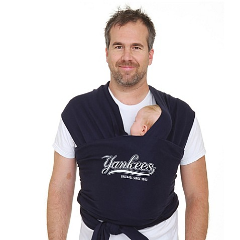 Moby® MLB™ Edition New York Yankees Wrap Baby Carrier in Navy