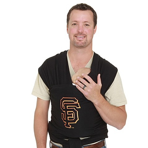 Moby® MLB™ Edition San Francisco Giants Wrap Baby Carrier in Black