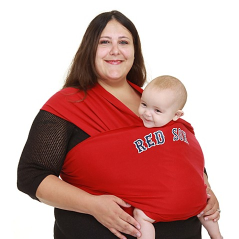 Moby® MLB™ Edition Boston Red Sox Wrap Baby Carrier in Red