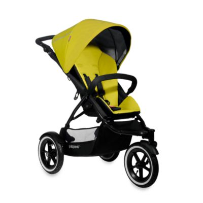 phil&teds® Navigator™ Go Everywhere in Line™ Stroller in Golden Kiwi