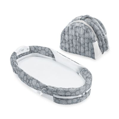 Baby Delight® Snuggle Nest® Surround Portable Infant Sleeper in Grey/White