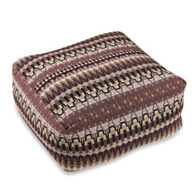 Irish Lace Lavender Floor Cushion
