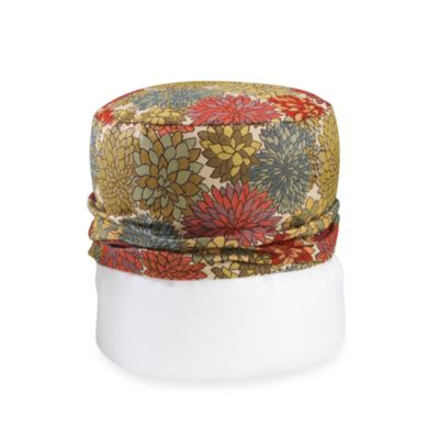 Mumsford Multi-Colored Footstool Cover