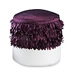 Swimcap Purple Footstool Cover