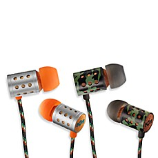 House of Marley Midnight Ravers™ In-Ear Headphones (3-Button Remote w/Mic)