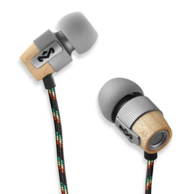 House of Marley Redemption Song™ In-Ear Headphones in Mist (3-Button Remote w/Mic)