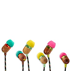 House of Marley Smile Jamaica™ In-Ear Headphones (1-Button Remote w/ Mic)