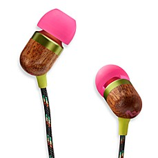 House of Marley Smile Jamaica™ 1-Button Remote w/Mic In-Ear Headphones in Lily