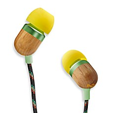 House of Marley Smile Jamaica™ in-Ear Headphones in Curry (1-Button Remote w/Mic)