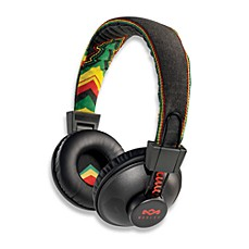 House of Marley On-Ear Headphones in Rasta