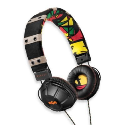 House of Marley Rebel™ On-Ear Headphones in Rasta