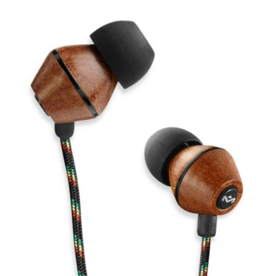 House of Marley People Get Ready™ In-Ear Headphones in Midnight (1-Button Remote w/Mic)