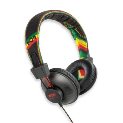 House of Marley Positive Vibration™ On-Ear Headphones in Rasta