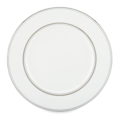 kate spade new york Library Lane Platinum 10.75-Inch Dinner Plate