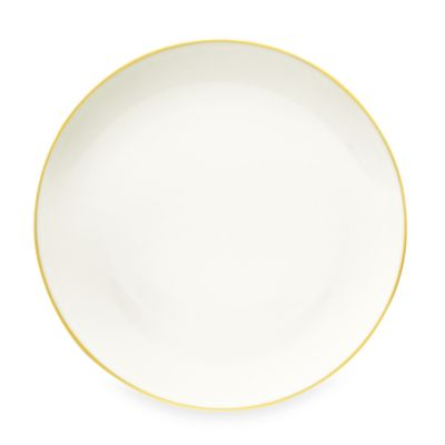 Noritake® Colorwave Mustard 10.5-Inch Coupe Dinner Plate