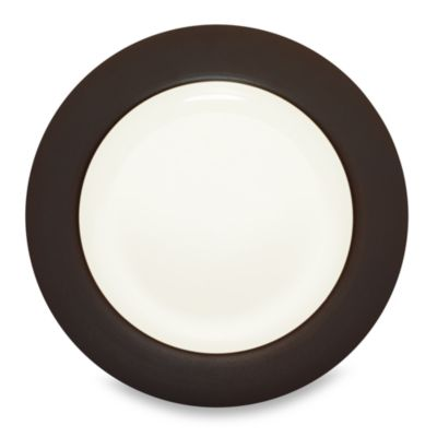 Noritake® Colorwave Chocolate Rim 11-Inch Dinner Plate