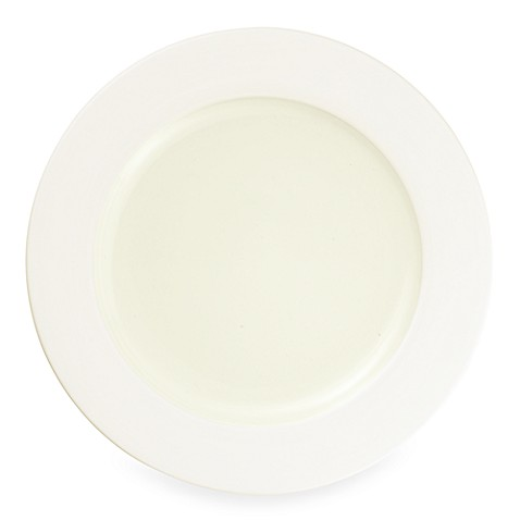 Noritake® Colorwave Rim Dinner Plate in White