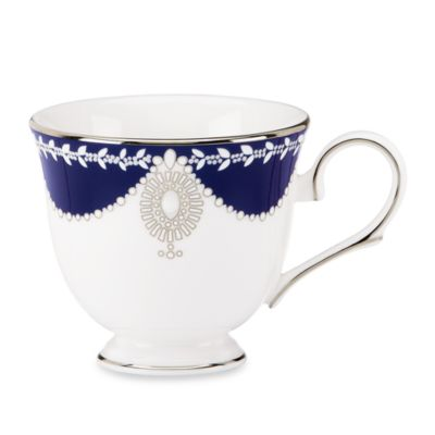 Marchesa by Lenox® Empire Pearl Indigo 6-Ounce Tea Cup