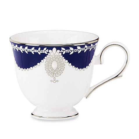 Marchesa by Lenox® Empire Pearl Indigo Teacup