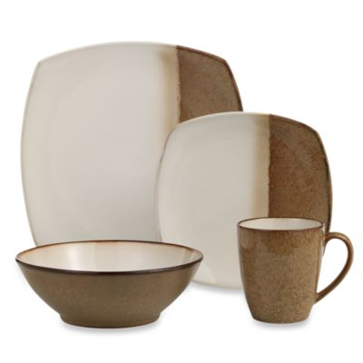 Sango Metallics Gold 16-Piece Dinnerware Set