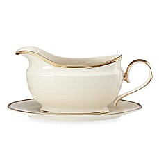 Lenox® Eternal® Gravy Boat and Stand