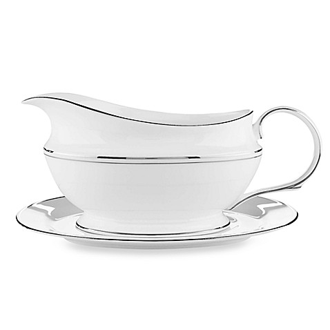 Lenox® Federal Platinum Gravy Boat and Stand