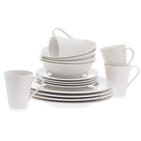 Maxwell & Williams™ White Basics Cosmopolitan 16-Piece Dinnerware Set