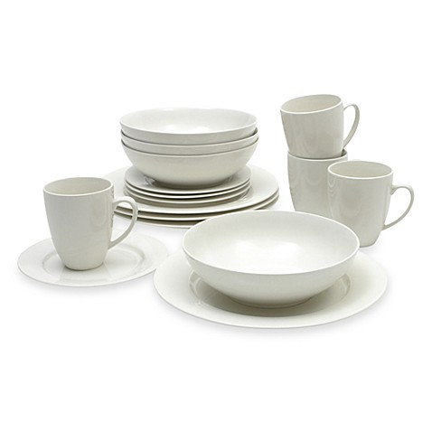 Maxwell & Williams™ White Basics 16-Piece Studio Dinnerware Set