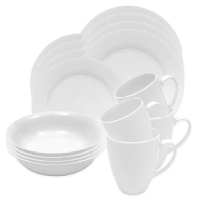 Maxwell & Williams™ White Basics Providence 16-Piece Dinnerware Set