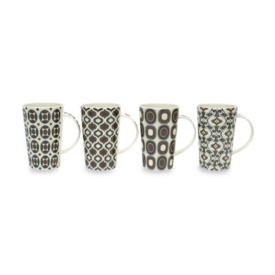 Maxwell & Williams™ Marrakesh 15 1/2-Ounce Mugs (Set of 4)