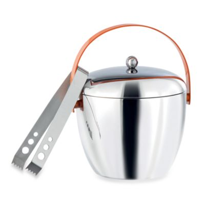 Royal Doulton® Pop In For Drinks Ice Bucket with Tongs