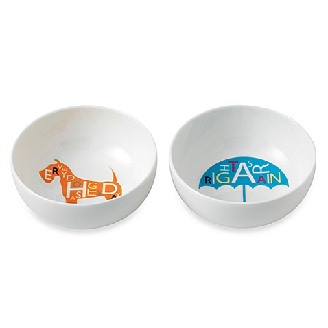 Royal Doulton® Pop In For Drinks 5-Inch Bowls (Set of 2)