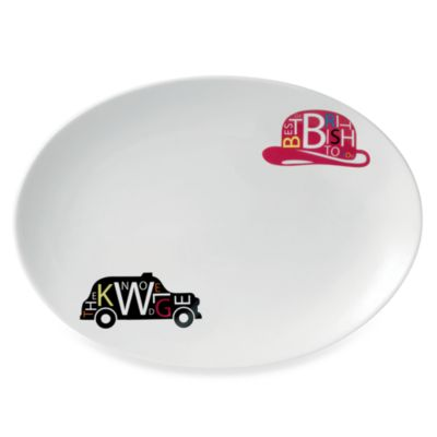 Royal Doulton® Pop In For Drinks 14-Inch Oval Platter