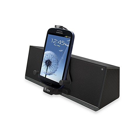 iLuv® Mobi Dock™ Stereo Speaker Dock for Smartphones