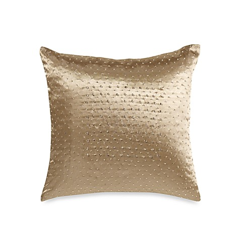 Nicole Miller Home Decorative Pillows : Nicole Miller Modern Opulence 14-Inch Square Decorative Pillow - Bed Bath & Beyond