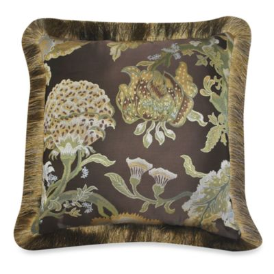 Austin Horn Classics Wonderland Reversible Square Toss Pillow