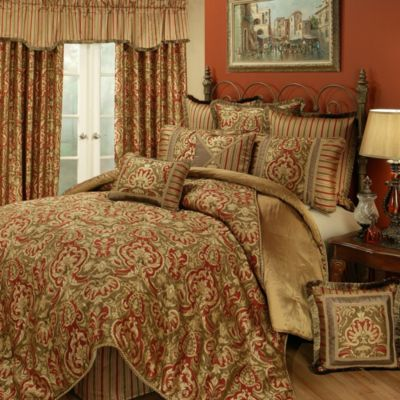 Austin Horn Classics Botticelli 4-Piece California King Comforter Set