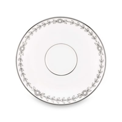 Lenox® Empire Pearl Saucer Formal Dinnerware