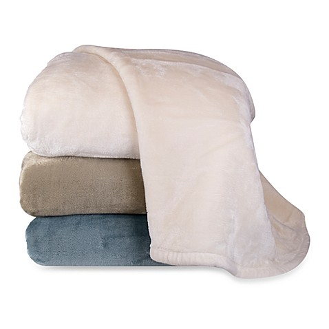 Lenox® Velvet Plush Blanket Collection