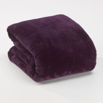 Berkshire Blanket® Serasoft® Supreme Throw in Purple