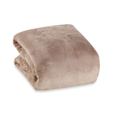 Berkshire Blanket® Serasoft® Supreme Throw in Chino