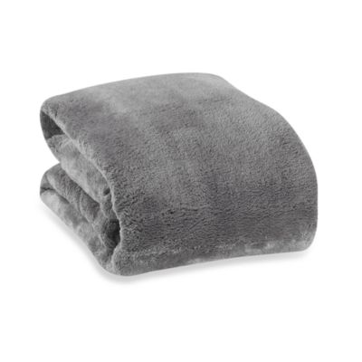 Berkshire Blanket® Serasoft® Supreme Throw in Ash