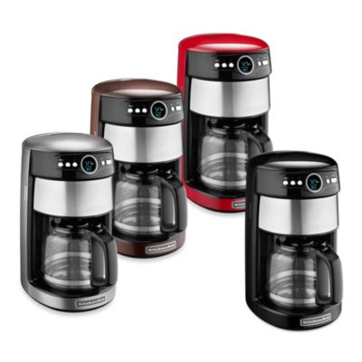 KitchenAid® 14-Cup Glass Carafe Coffee Maker in Espresso