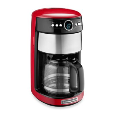 KitchenAid® 14-Cup Glass Carafe Coffee Maker in Empire Red