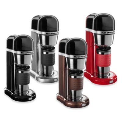 KitchenAid® Personal Brewer Coffee Maker in Onyx Black