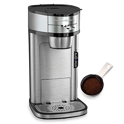 Hamilton Beach® The Scoop™ Single-Serve Coffee Maker