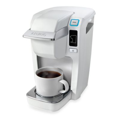 Keurig® B31/K10 Mini-Plus Personal Coffee Maker in White